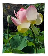 Lotus Lily Standing Tall Tapestry