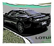 Lotus Position Tapestry