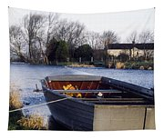 Lough Neagh, Co Antrim, Ireland Boat In Tapestry