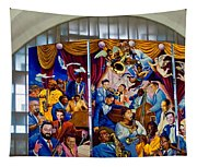 Louis Armstrong Airport Tapestry