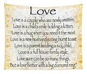 Love Poem In Yellow Tapestry
