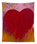 Love On Fire Tapestry