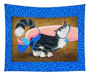 Love Pump Blue Tapestry