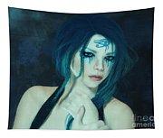 Loving Blue Hair Tapestry