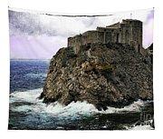 Lovrijenac Tower In Dubrovnik Tapestry