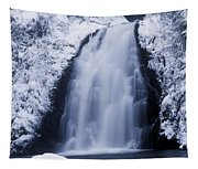 Low Angle View Of A Waterfall, Glenoe Tapestry