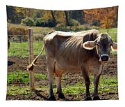 Low Cow Tapestry