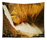 Lower Falls Yellowstone River Tapestry
