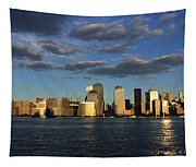 Lower Manhattan At Sunset, Viewed From Tapestry