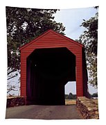 Loy's Station Covered Bridge Tapestry