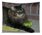 Lucky The Cat Tapestry