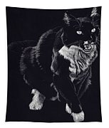 Lucy The Cat Tapestry