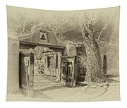 Mabel's Gate As Antique Print Tapestry