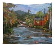 Mad River And Campton Bridge Tapestry
