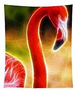Magical Pink Flamingo Tapestry