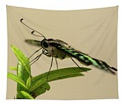 Malachite Butterfly Tapestry