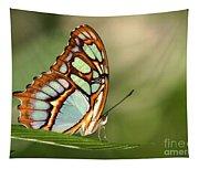 Malachite Butterfly Tapestry