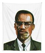 Malcolm X Tapestry