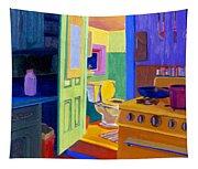 Malden Bathroom 1977 Tapestry