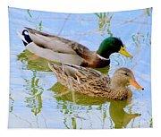 Mallard Couple Tapestry