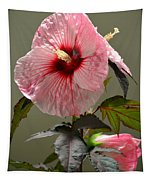Mallow Hibiscus Tapestry