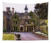 Manor House At Castle Combe  Tapestry