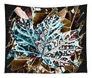Maple Leaf And Laurel Tapestry