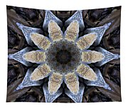 Marbled Mandala - Abstract Art Tapestry