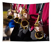 Marching Band Saxophones  Tapestry