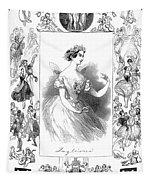 Marie Taglioni (1804-1884) Tapestry