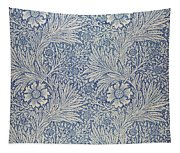 Marigold Wallpaper Design Tapestry