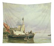 Marine Scene  Tapestry