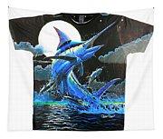 Marlin Moon Mens Shirt Tapestry