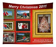 Mclanegoetz Studio Christmas Card Tapestry