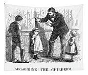 Measuring Children, 1876 Tapestry