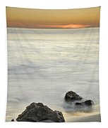 Mediterranean Sunset Tapestry