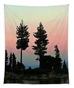 Meeks Bay Sunset. Tapestry