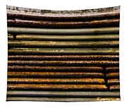 Metal Stripe  Tapestry