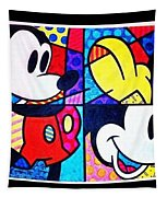 Mickey Colors Tapestry