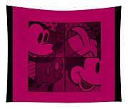 Mickey In Hot Pink Tapestry