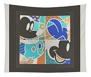 Mickey In Negative Tapestry