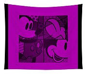Mickey In Purple Tapestry