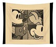 Mickey In Sepia Tapestry