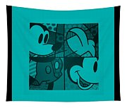 Mickey In Turquois Tapestry