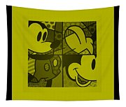 Mickey In Yellow Tapestry