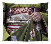 Midsection Of Apprentice Geisha - Maiko Tapestry