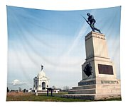 Minnesota Monument At Gettysburg Tapestry