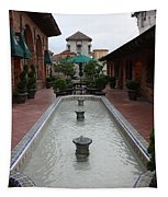 Mission Inn Roof Top Pond Tapestry