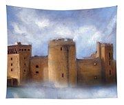 Misty Romantic Scotland Tapestry