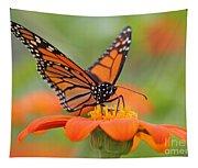Monarch Butterfly Macro Tapestry